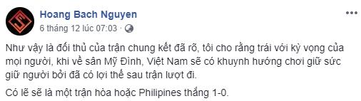 Người hâm mộ mừng ra mặt khi truyền nhân Pele dự đoán trận Việt Nam vs Malaysia - Ảnh 2.