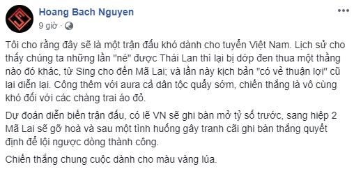 Người hâm mộ mừng ra mặt khi truyền nhân Pele dự đoán trận Việt Nam vs Malaysia - Ảnh 4.