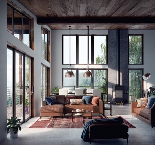 Phòng khách đẹp hiện đại, hấp dẫn người nhìn - Ảnh 7.