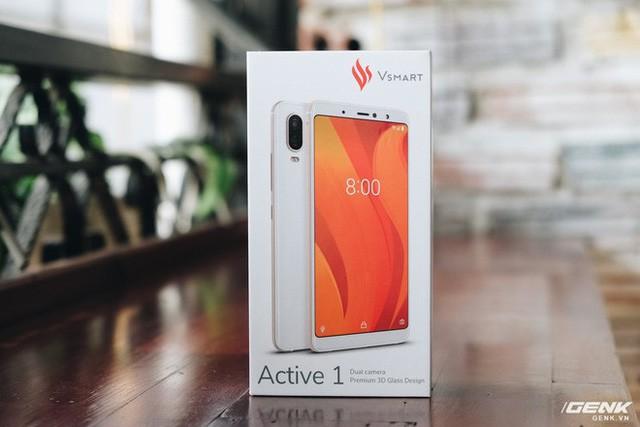 Mở hộp và trên tay Vsmart Active 1: Thiết kế đẹp, cấu hình mạnh, hậu mãi tốt, giá rẻ hơn cả điện thoại Trung Quốc - Ảnh 1.