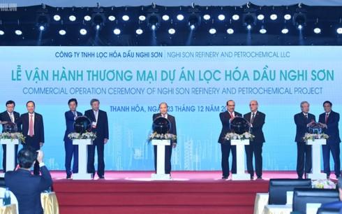 Thủ tướng dự Lễ vận hành thương mại dự án lọc hóa dầu quy mô 9 tỉ USD - Ảnh 1.