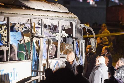 Xe chở du khách Việt bị đánh bom ở Ai Cập: Sớm đưa các nạn nhân về nước - Ảnh 1.