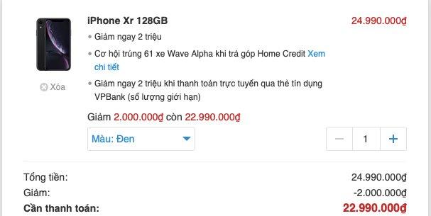 iPhone chính hãng tiếp tục bán dưới giá niêm yết - Ảnh 1.