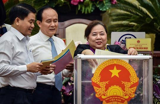 Chủ tịch Hà Nội Nguyễn Đức Chung có 84 phiếu tín nhiệm cao, 4 phiếu tín nhiệm thấp - Ảnh 1.