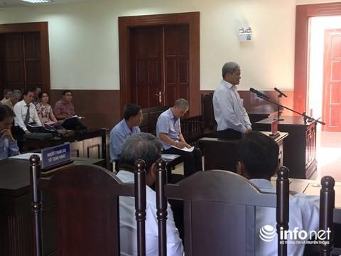 Đại diện NHNN đề nghị miễn trách nhiệm hình sự cho bị cáo vụ Trustbank - Ảnh 1.