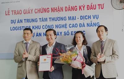 Hai DN đầu tư hơn 62 triệu USD vào Khu Công nghệ cao Đà Nẵng - Ảnh 1.