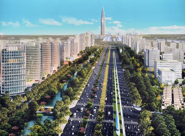 Siêu kế hoạch xây thành phố thông minh hơn 37 tỷ USD ở phía Bắc Hà Nội khởi công từ tháng 8 - Ảnh 2.