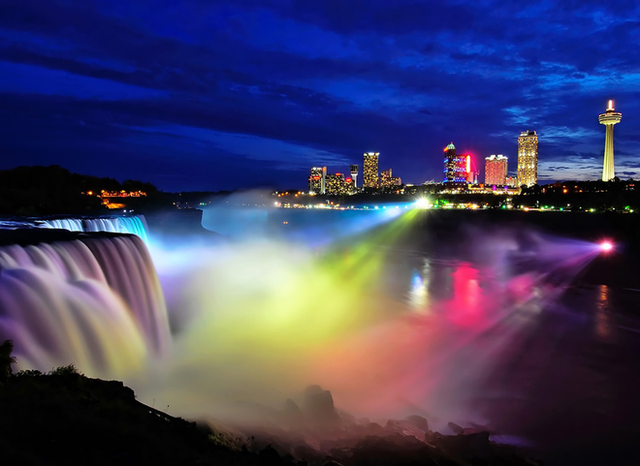 Chiêm ngưỡng bức ảnh thác Niagara vào mùa đông băng giá: cứ ngỡ chụp ở hành tinh nào khác! - Ảnh 1.