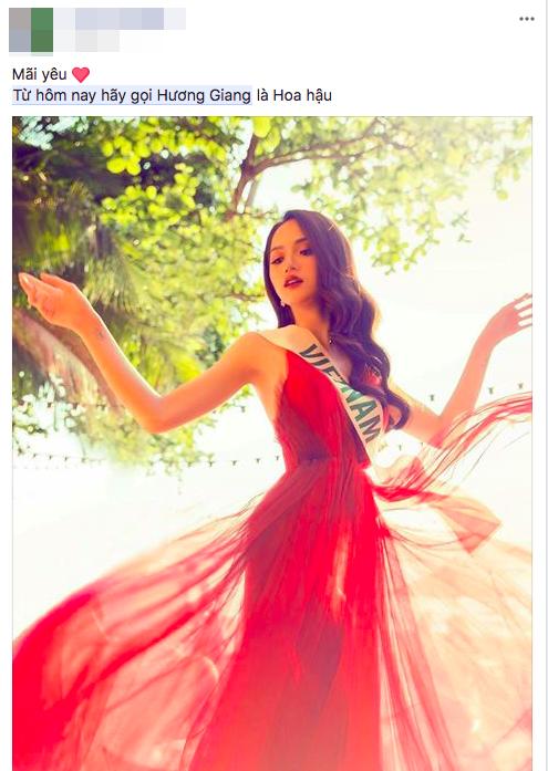 Từ hôm nay hãy gọi Hương Giang là Hoa hậu chính là câu nói hot nhất ngày hôm nay! - Ảnh 5.