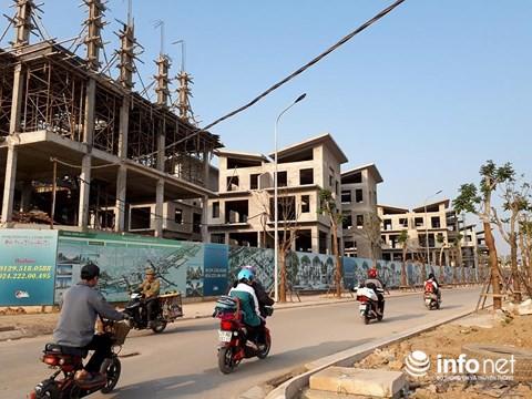 Dự án Khai Sơn Hill: 26 biệt thự không phép dừng thi công, chờ cấp GPXD - Ảnh 2.