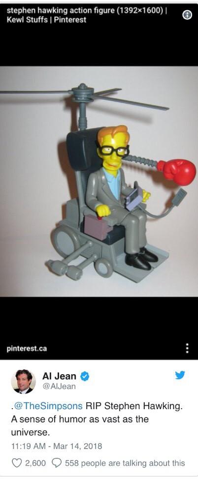"""Đây là cách """"cả thế giới"""" thể hiện niềm thương tiếc trước sự ra đi của nhà bác học vĩ đại Stephen Hawking - Ảnh 2."""