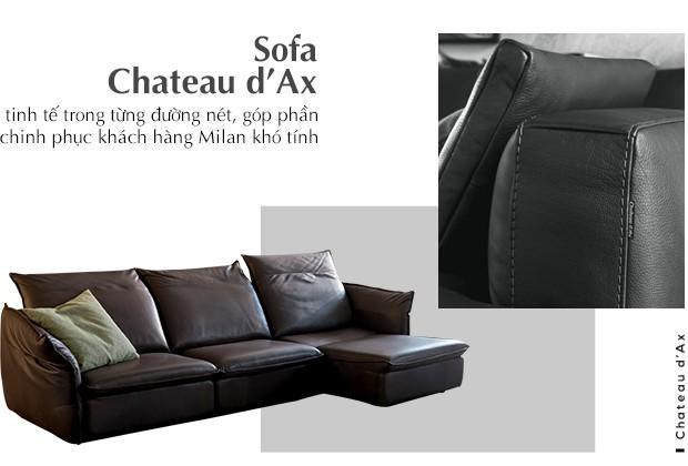 Chateau d'Ax và hành trình 70 năm từ tiệm may nhỏ ở Milan đến những chiếc sofa thủ công hàng đầu Châu Âu - Ảnh 4.