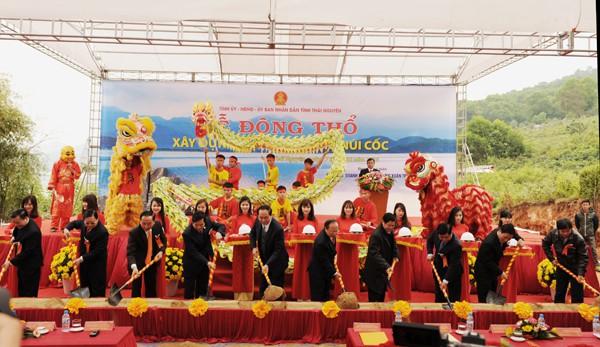 Siêu dự án Hồ Núi Cốc của tỷ phú Xuân Trường ở Thái Nguyên bất ngờ bị dừng - Ảnh 2.