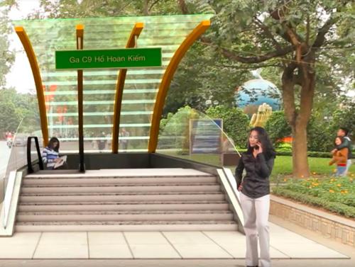 Ga tàu điện ngầm Thứ nhất ở Hồ Gươm trông thế nào? - Ảnh 6.