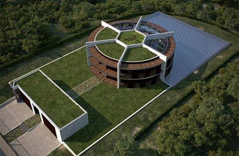 Ngắm ngôi nhà đậm chất sân cỏ của ngôi sao Messi - Ảnh 2.