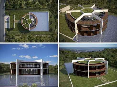 Ngắm ngôi nhà đậm chất sân cỏ của ngôi sao Messi - Ảnh 3.
