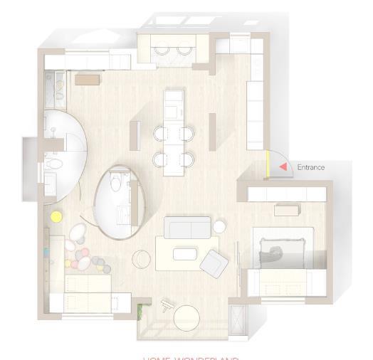 Thiết kế phá cách, ấn tượng của căn hộ cao tầng hơn 100m2 cho gia đình có con nhỏ - Ảnh 19.