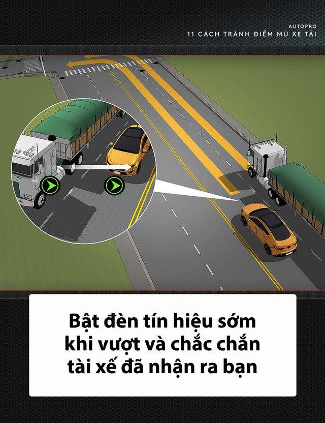 [Photo Story] 11 bí quyết lái xe sống còn bạn phải nhớ khi gặp xe tải - Ảnh 9.