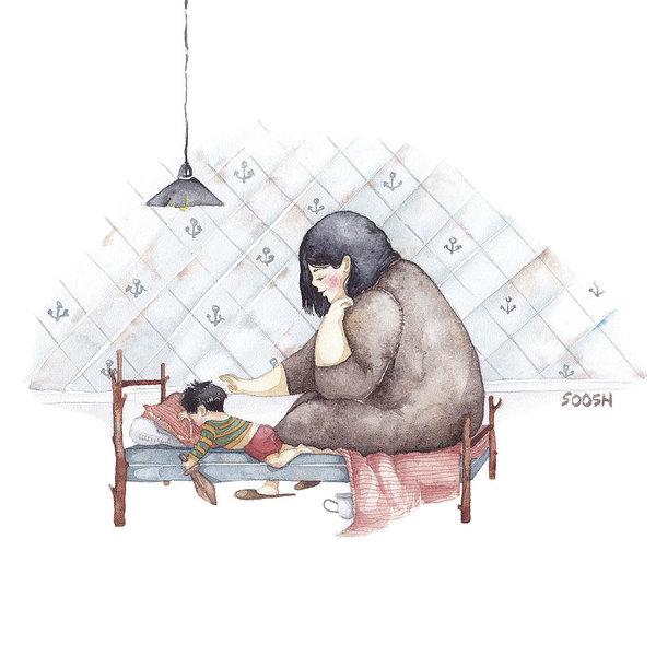 Ngày của Mẹ: Cùng ngắm bộ tranh về những điều thiêng liêng nhất dành cho con nhưng chưa bao giờ mẹ kể - Ảnh 7.