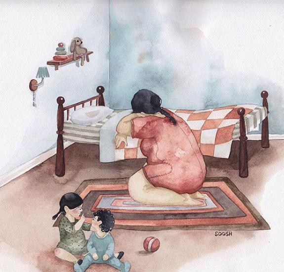 Ngày của Mẹ: Cùng ngắm bộ tranh về những điều thiêng liêng nhất dành cho con nhưng chưa bao giờ mẹ kể - Ảnh 10.