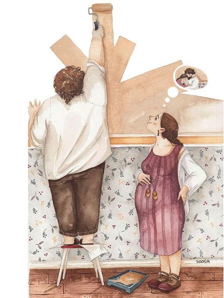 Ngày của Mẹ: Cùng ngắm bộ tranh về những điều thiêng liêng nhất dành cho con nhưng chưa bao giờ mẹ kể - Ảnh 1.