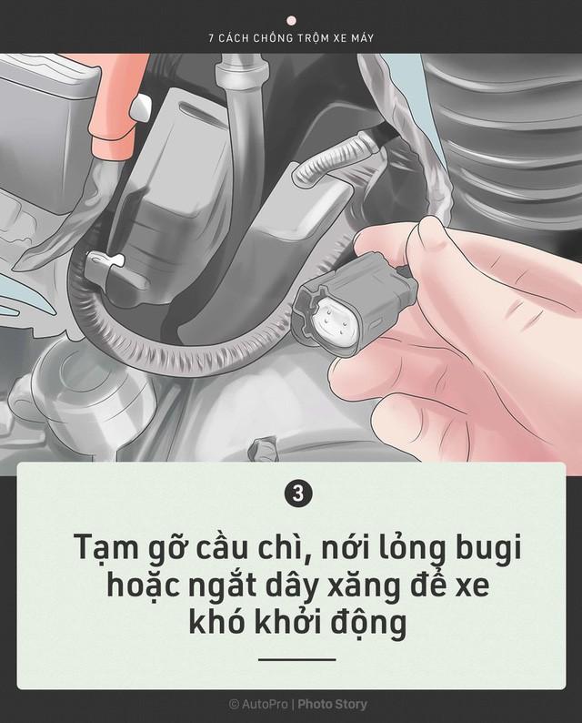 [Photo Story] Trước khi cần tới Hiệp sỹ đường phố, chính bạn hãy bảo vệ xe của mình - Ảnh 4.