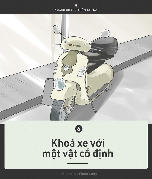 [Photo Story] Trước khi cần tới Hiệp sỹ đường phố, chính bạn hãy bảo vệ xe của mình - Ảnh 7.