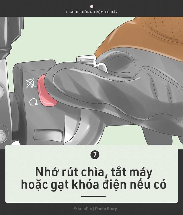 [Photo Story] Trước khi cần tới Hiệp sỹ đường phố, chính bạn hãy bảo vệ xe của mình - Ảnh 8.