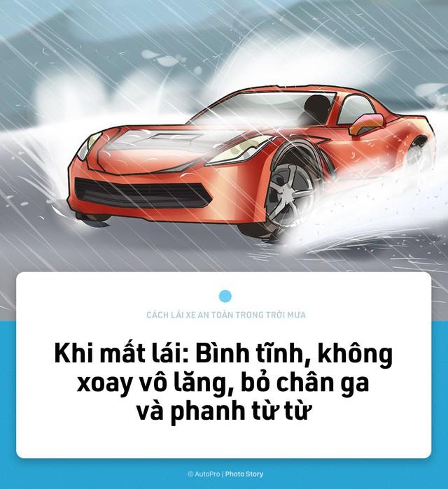 [Photo Story] Lái xe an toàn hơn trong mưa với 15 nguyên tắc sau đây - Ảnh 15.