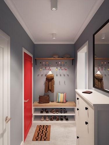 Thiết kế căn hộ chung cư sáng tạo theo phong một vàih Scandinavian - Ảnh 1.