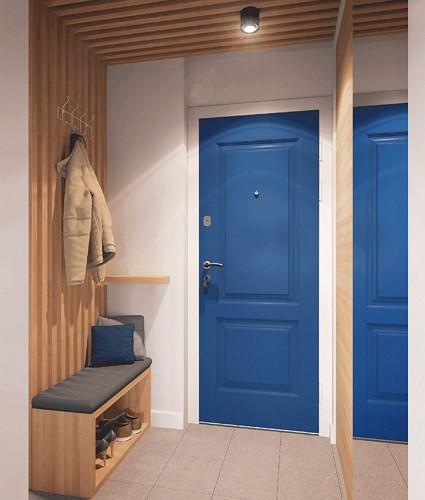 Căn hộ 34 m2 kết hợp phòng khách và phòng ngủ tiện lợi - Ảnh 1.