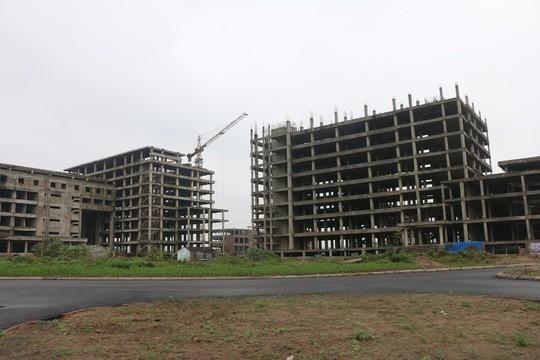 Cận cảnh hoang tàn dự án bệnh viện 700 giường đầu tư 850 tỉ đồng - Ảnh 11.