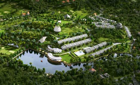 Xu hướng có villa ven đô của giới nhà giàu Hà Nội - Ảnh 1.