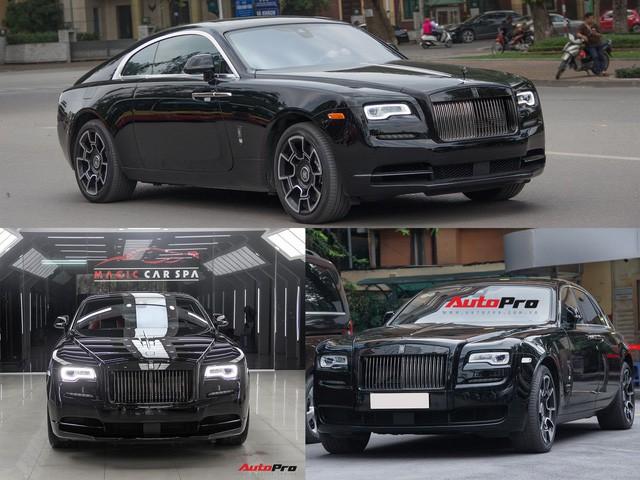 Bộ ba Rolls-Royce bản Black Badge với 3 phong cách nội thất độc đáo tại Việt Nam - Ảnh 2.