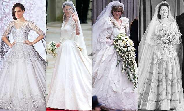Cuối cùng thì chiếc váy cưới trị giá hơn 3 tỷ đồng của cô dâu Hoàng gia Anh Meghan Markle cũng đã lộ diện, đẹp đến từng milimet - Ảnh 4.