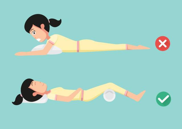 Ai bị đau lưng, cổ, vai, chân, hãy áp dụng tư thế ngủ dưới đây để có một giấc ngủ ngon - Ảnh 1.