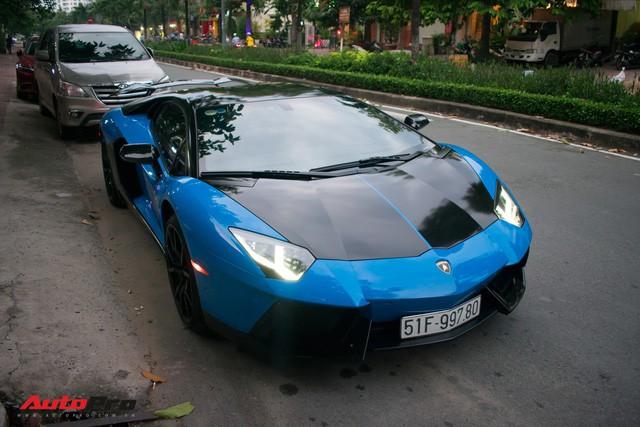 Siêu xe Lamborghini Aventador độc nhất Việt Nam khoác áo mới - Ảnh 1.