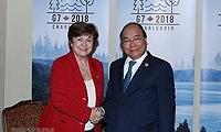 Dấu ấn Thủ tướng và đóng góp của Việt Nam tại Hội nghị G7 mở rộng - Ảnh 3.