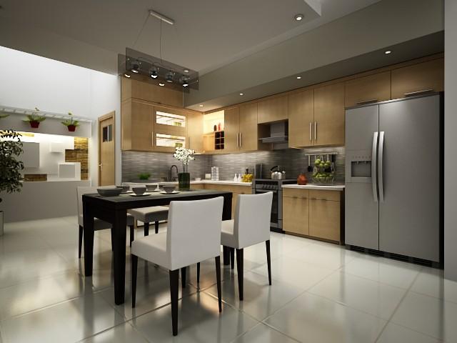 Cách thiết kế nội thất phòng bếp thêm rộng - Ảnh 4.