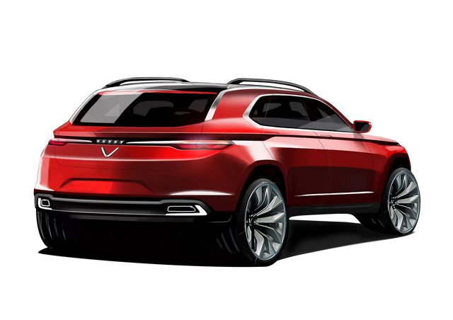 Lộ diện hình ảnh thực tế đầu tiên của xe hơi Vinfast? - Ảnh 7.
