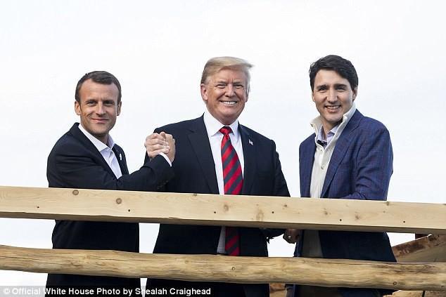 Tổng thống Trump tiết lộ sự thậtđằng sau bức ảnh cô lập ông tại G7 - Ảnh 2.