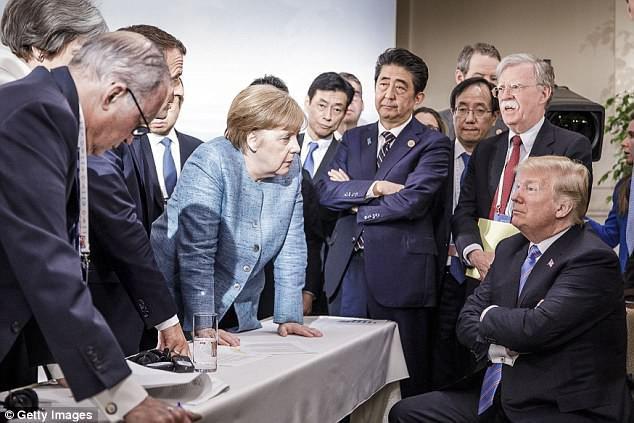 Tổng thống Trump tiết lộ sự thậtđằng sau bức ảnh cô lập ông tại G7 - Ảnh 4.