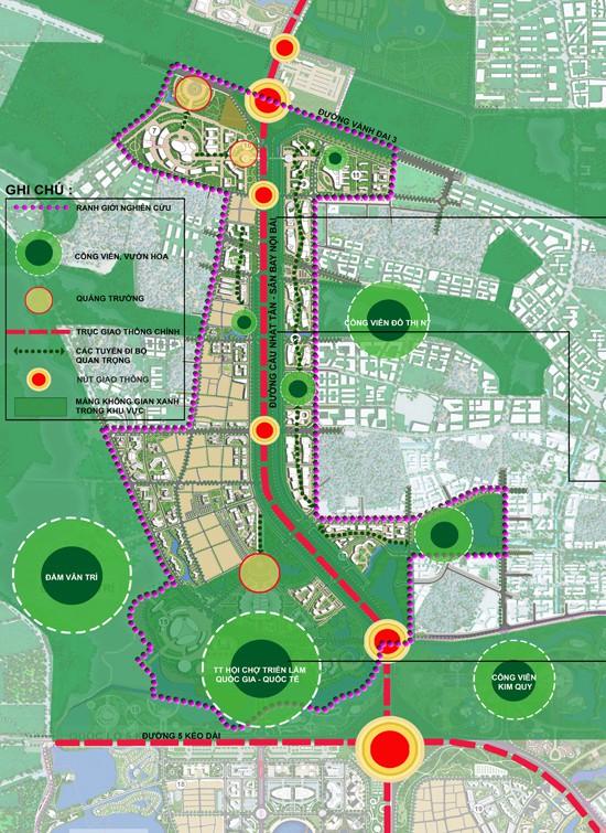 Cận cảnh về siêu đô thị thông minh hơn 4 tỷ USD Nhật Tân – Nội Bài trong tương lai - Ảnh 1.
