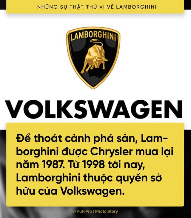 [Photo Story] 10 điểm thú vị ai cũng cần biết về Lamborghini - Ảnh 4.