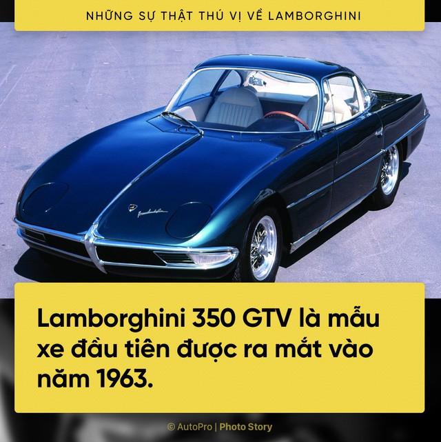 [Photo Story] 10 điểm thú vị ai cũng cần biết về Lamborghini - Ảnh 7.