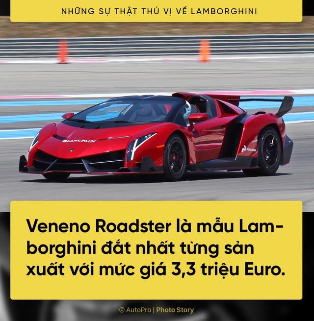 [Photo Story] 10 điểm thú vị ai cũng cần biết về Lamborghini - Ảnh 10.