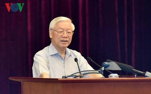 Toàn văn phát biểu của Tổng Bí thư về phòng, chống tham nhũng - Ảnh 1.