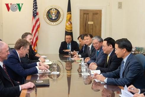 Việt Nam và Hoa Kỳ đẩy mạnh hợp tác 3 trụ cột kinh tế lớn - Ảnh 1.