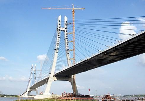 Nứt cầu Vàm Cống: Phải sửa chữa 6-7 tháng mới xong - Ảnh 1.