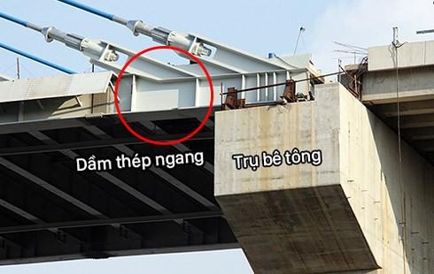Nứt cầu Vàm Cống: Phải sửa chữa 6-7 tháng mới xong - Ảnh 3.